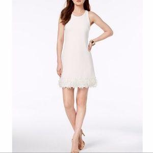 NWT Julia Jordan White A-Line Dress; 10